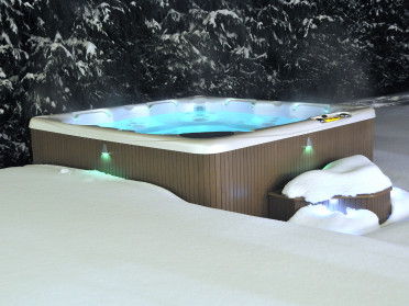 Beachcomber spa winter mood