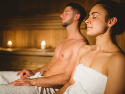benefits of a sauna traditional steam room relax wellness