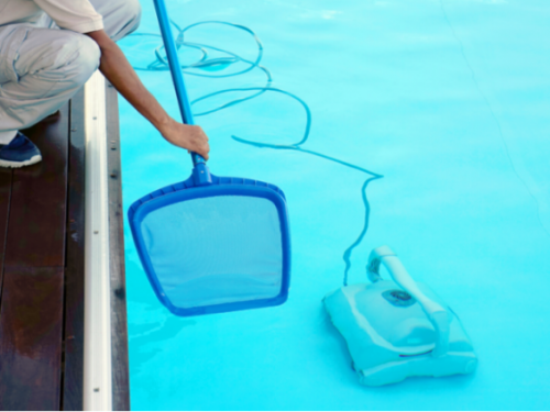Swimming Pool Vacuum for Cleaning and Maintenance