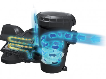 Bomba de piscina SILENSOR Pro funcion