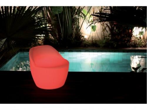 Ensemble salon de jardin lumineux swimmingpool - Mobilier jardin lumineux ...